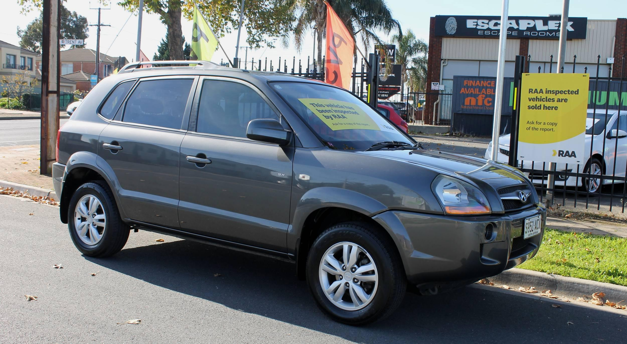 2009 Hyundai Tucson 08 UPGRADE CITY SX