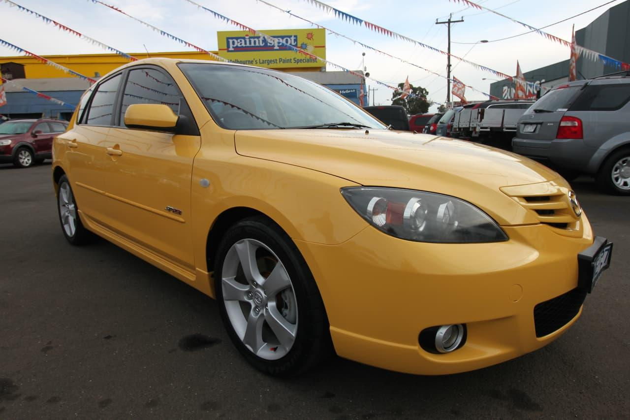 2004 Mazda 3 BK Series 1 SP23